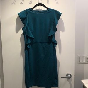 Turquoise Donna Karan dress size 6